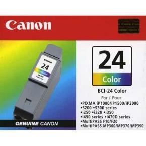 Canon BJ CARTRIDGE colour BCI-24CL (2pcs) twin