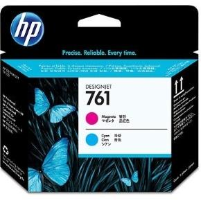 HP 761 Magenta and Cyan Printhead, CH646A