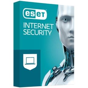 Licence ESET Internet Security, 3 stanice, 1 rok