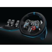 Logitech G29 Driving Force Racing Wheel, volant pro PlayStation 4, PlayStation 3 a PC