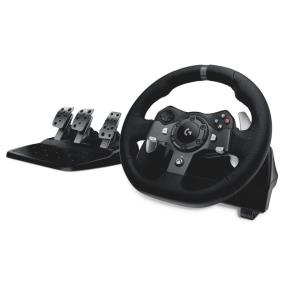 Logitech G920 Driving Force Racing Wheel, volant pro Xbox One a PC