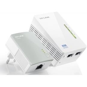 TP-Link TL-WPA4220Kit 300Mbps Powerline Extend,Kit