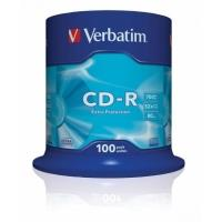 Verbatim CD-R 700MB 52x, 100ks