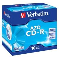 Verbatim CD-R 700MB 52x, 10ks