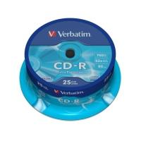 Verbatim CD-R 700MB 52x, 25ks