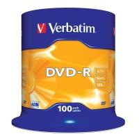 Verbatim DVD-R 4,7GB 16x, 100ks