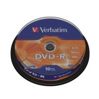 Verbatim DVD-R 4,7GB 16x, 10ks