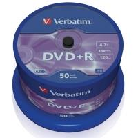 Verbatim DVD+R 4,7GB 16x, 50ks