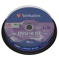 Verbatim DVD+R 8,5GB 8x DoubleLayer, 10ks